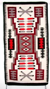 Native American Trading Company Navajo Storm Pattern Runner, Blankets, and Tapestries to choose from.