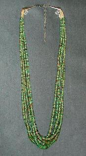 Turquoise Heishi and other Indian Jewelry can be found at The Native American Trading Company in Denver Colorado.