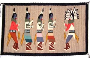 Native American Trading Company Navajo Ye'ii bichai Tapestry, Blanket and Rugs to choose from