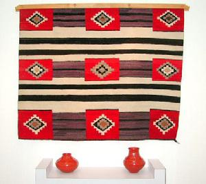 Native American Trading Company Navajo Chief Blanket Second Phase, Tapestries and Rugs to choose from.
